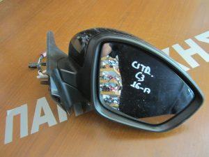 Citroen C3 2016-2017 δεξιός ηλεκτρικός καθρέπτης μαύρος