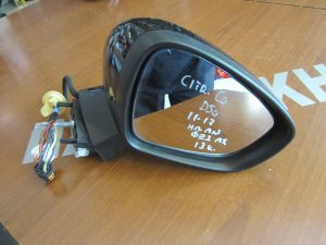 Citroen DS4 2011-2017 δεξιός ηλεκτρικά ανακλινόμενος καθρέπτης μαύρος φως ασφαλείας