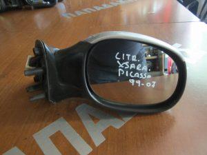 Citroen Xsara Picasso 1999-2007 δεξιός καθρεπτης ηλετρικός ασημί