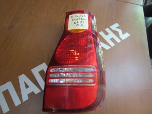 hyundai matrix 2001 2005 piso dexio fanari 300x225 Hyundai Matrix 2001 2005 πίσω δεξιό φανάρι