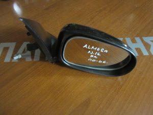 Nissan Almera N16 2000-2006 δεξιός ηλεκτρικός καθρέπτης μαύρος