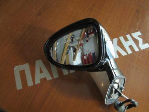 Opel Zafira Tourer 2012-2017 αριστερός ηλεκτρικά ανακλινόμενος καθρέπτης μαύρος με ασημί