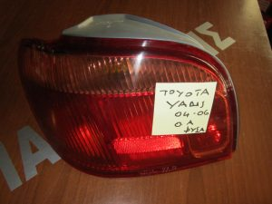 Toyota Yaris 2004-2006 πίσω αριστερό φανάρι με φύσα