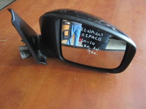 Renault Espace 2010-2014 δεξιός καθρεπτης ηλεκτρικά ανακλινόμενος μαύρος