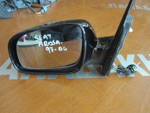 Seat Arosa 1997-2004 αριστερός μηχανικός καθρέπτης μαύρος