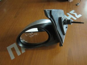 Toyota Aygo 2006-2014 αριστερός μηχανικός καθρέπτης ασημί