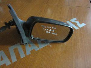 Toyota Yaris 1999-2004 δεξιός μηχανικός καθρέπτης άβαφος