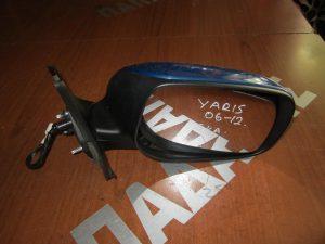 Toyota Yaris 2006-2011 δεξιός καθρεπτης ηλεκτρικός μπλε θερμαινόμενος
