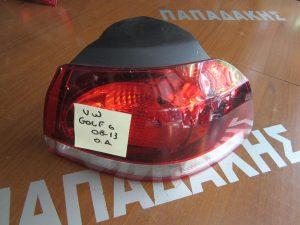 VW Golf 6 2008-2013 πίσω δεξιό φανάρι φιμέ