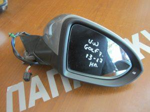 VW Golf 7 2013-2017 δεξιός ηλεκτρικός καθρέπτης ασημί