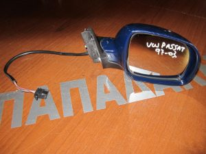 VW Passat 1997-2003 δεξιός ηλεκτρικός καθρέπτης μπλε σκούρο