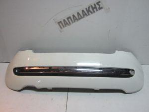 Fiat 500 2007-2012 προφυλακτήρας πίσω άσπρος