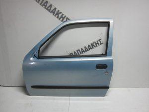 Fiat Seicento 1998-2007 πόρτα αριστερή γαλάζια