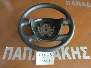 Lancia Y 2006-2011 βολάν τιμονιού μαύρο