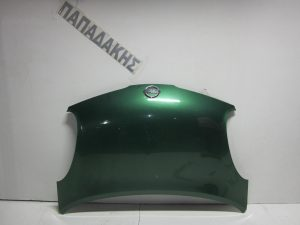 Nissan Micra K12 2003-2010 καπό εμπρός πράσινο