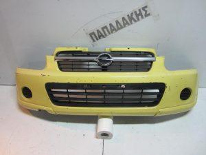 Opel Agila 2003-2008 προφυλακτήρας εμπρός κίτρινος