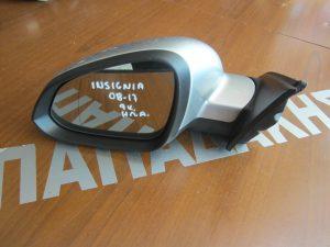 Opel Insgnia 2008-2017 καθρέπτης αριστερός ηλεκτρικά ανακλινόμενος ασημί 9 καλώδια