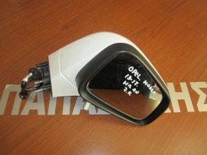 Opel Mokka 2013-2017 καθρέπτης δεξιός ηλεκτρικά ανακλινόμενος άσπρος 7 καλώδια