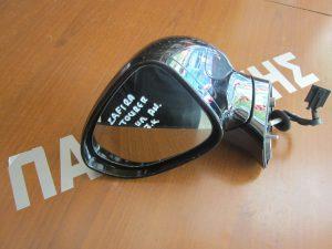 Opel Zafira Tourer 2012-2017 καθρέπτης αριστερός ηλεκτρικά ανακλινόμενος μαύρος 7 καλώδια