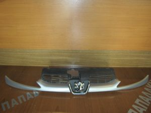 Peugeot 206 1998-2009 μάσκα εμπρός ασημί