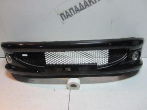 Peugeot 206 2003-2009 προφυλακτήρας εμπρός μαύρος με προβολείς