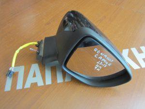 Renault Clio 2013-2017 καθρέπτης δεξιός ηλεκτρικός μαύρος 9 καλώδια