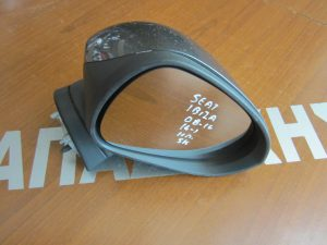 Seat Ibiza 2008-2016(2016->) καθρέπτης δεξιός ηλεκτρικός μαύρος 12 καλώδια 2 φις