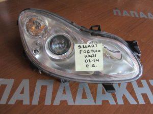 Smart ForTwo w451 2007-2014 φανάρι εμπρός δεξιό