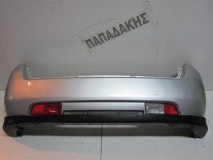 Suzuki Ignis 2003-2008 προφυλακτήρας πίσω ασημί