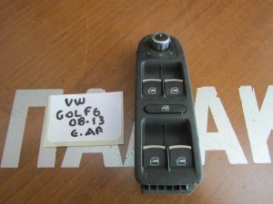 VW Golf 6 2008-2013 εμπρός αριστερός διακόπτης παραθύρου 4πλος