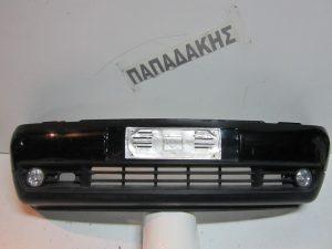 VW Lupo 1998-2001 προφυλακτήρας εμπρός μαύρος με προβολείς