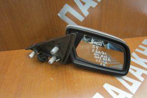 Bmw S5 E60/61 2003-2010 ηλεκτρικά ανακλινόμενος καθρέπτης δεξιός ασημί φως ασφαλείας 3 καλώδια