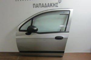 Chevrolet Matiz 2005-2009 πόρτα εμπρός αριστερή ασημί