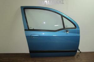 Chevrolet Matiz 2005-2009 πόρτα εμπρός δεξιά μπλε ανοιχτό