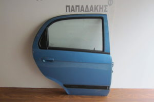 Chevrolet Matiz 2005-2009 πόρτα πίσω δεξιά μπλε ανοιχτό