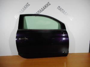 Fiat 500 2007-2016 πόρτα δεξιά δίπορτη μωβ