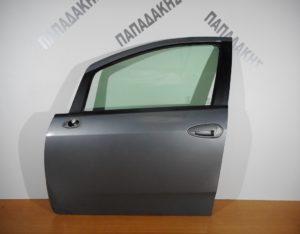 Fiat Grande Punto 2005-2015 πόρτα εμπρός αριστερή γκρι