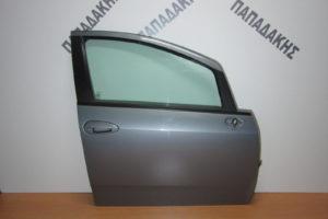 Fiat Grande Punto 2005-2015 πόρτα εμπρός δεξιά γκρι