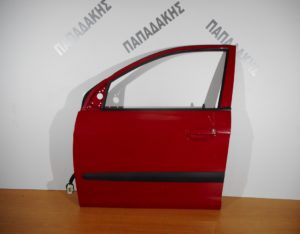 Kia Picanto 2004-2011 πόρτα εμπρός αριστερή κόκκινη