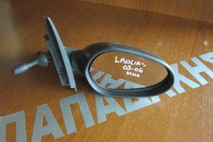 Lancia Y 2003-2006 καθρέπτης δεξιός μηχανικός μαύρος