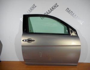 Lancia Ypsilon 2003-2011 πόρτα δεξιά δίπορτη ασημί πέρλα (κάτω χρώμιο)