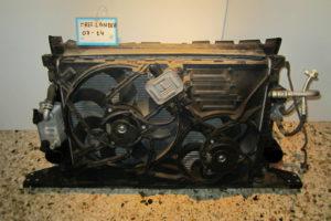 Land Rover Freelander 2011-2014 σετ ψυγείων: ψυγείο νερού- ψυγείο A/C- intercooler- βεντιλατέρ διπλό
