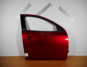 mazda 2 2014 2018 porta empros dexia kokkini 300x234 Mazda 2 2014 2018 πόρτα εμπρός δεξιά κόκκινη