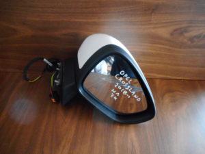 Opel Crossland X 2018-> ηλεκτρικός καθρέπτης δεξιός άσπρος 7 καλώδια
