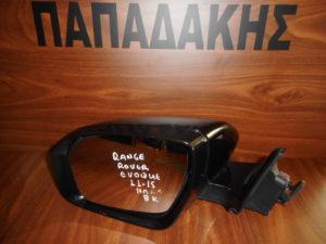 Range Rover Evoque 2011-2015 ηλεκτρικός καθρέπτης αριστερός μαύρος 8 καλώδια