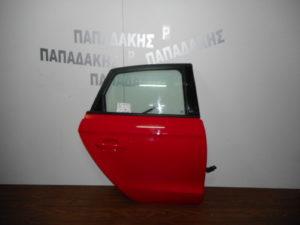 audi a1 2010 2018 porta piso dexia kokkini 300x225 Audi A1 2010 2018 πόρτα πίσω δεξιά κόκκινη