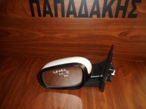 Chevrolet Spark 2010-2015 αριστερός καθρέπτης ηλεκτρικός άσπρος
