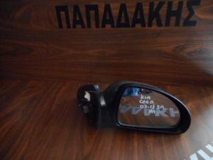 Kia Ceed 2007-2013 3πορτο δεξιός καθρέπτης ηλεκτρικός ασημοκαφέ