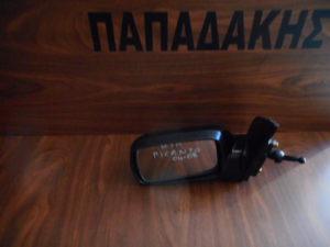 Kia Picanto 2004-2008 αριστερός καθρέπτης μηχανικός μαύρος