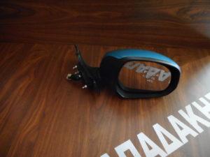 Suzuki Splash/Opel Agila 2008-2014 δεξιός καθρέπτης ηλεκτρικός γαλάζιος